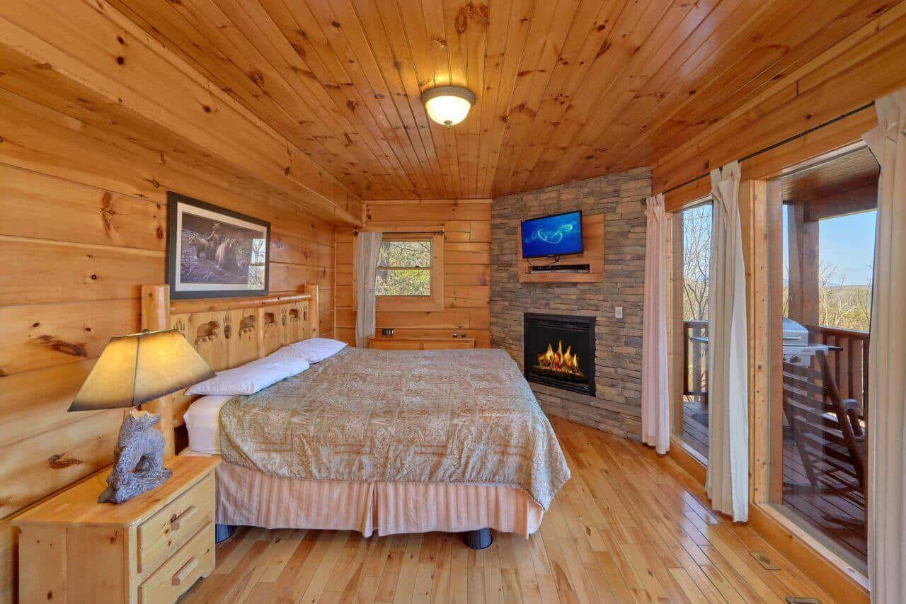 Luxury 3 bedroom cabin - 1 bedroom cabins in smoky mountains ...