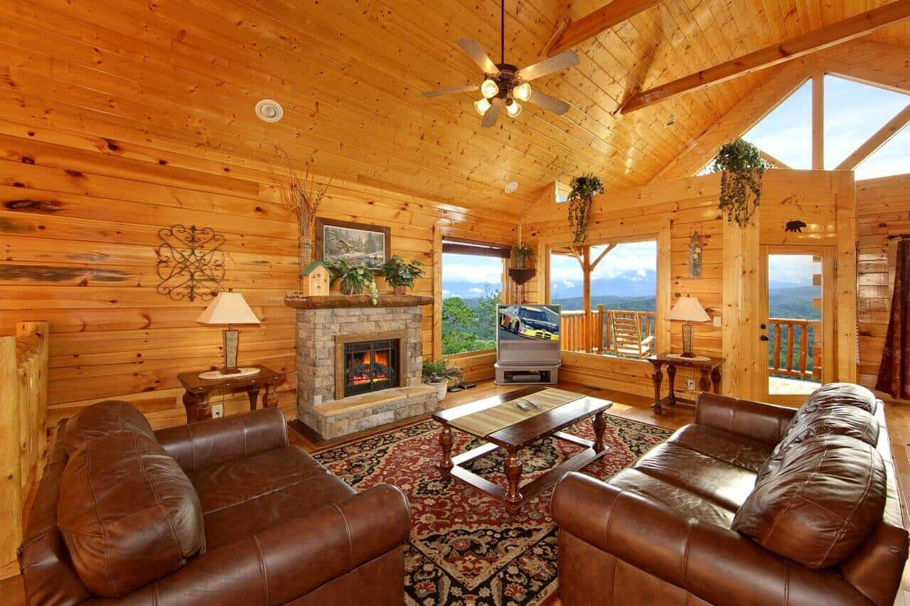Spectacular Views 51 Cabin In Sevierville Elk Springs