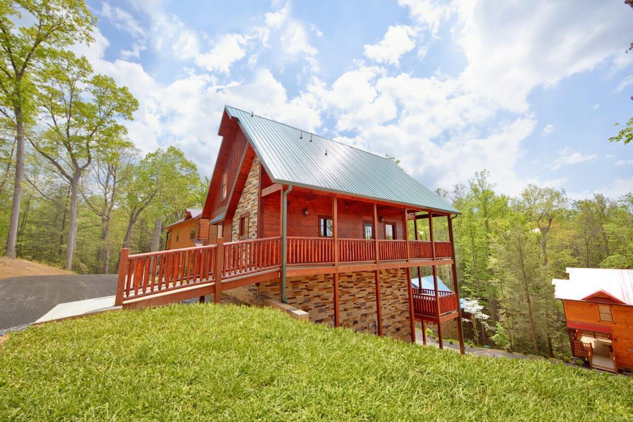 summit sanctuary cabin in gatlinburg elk springs resort