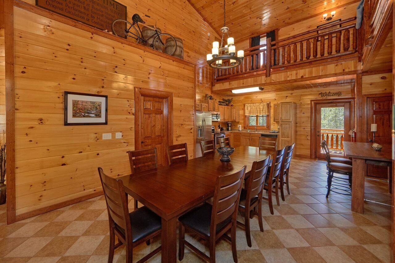 Sweet Tranquility Pool Lodge Cabin In Cosby Elk Springs