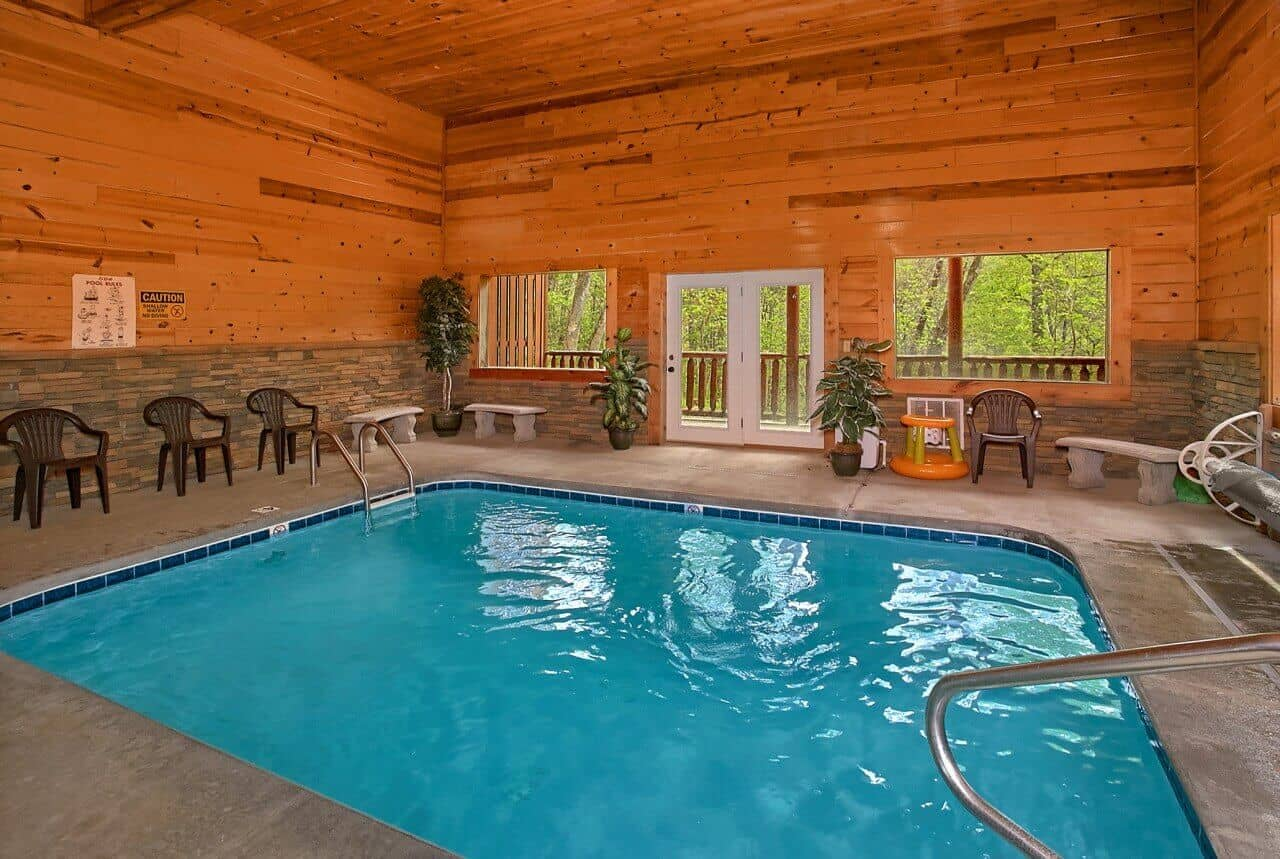Swimming In Paradise Cabin In Sevierville Elk Springs Resort