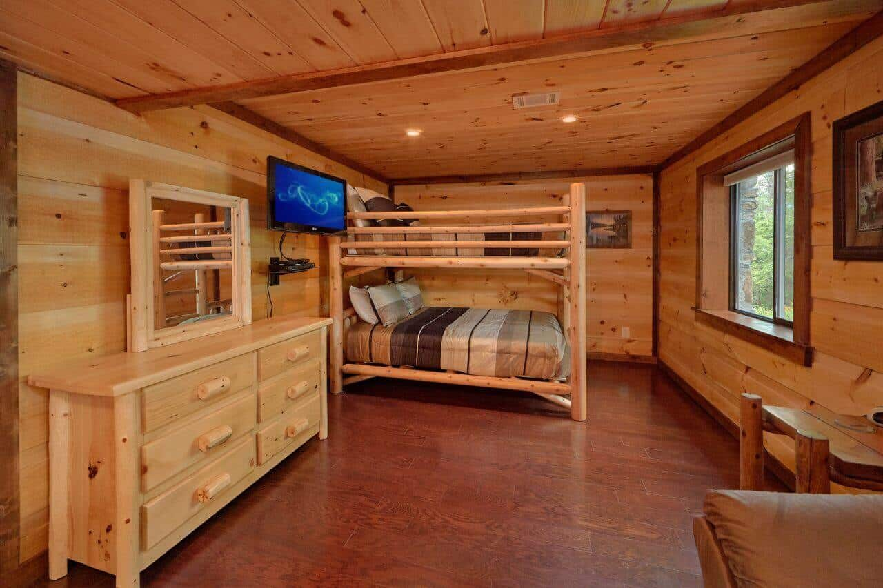 Gatlinburg Cabins With Wood Burning Fireplaces Small