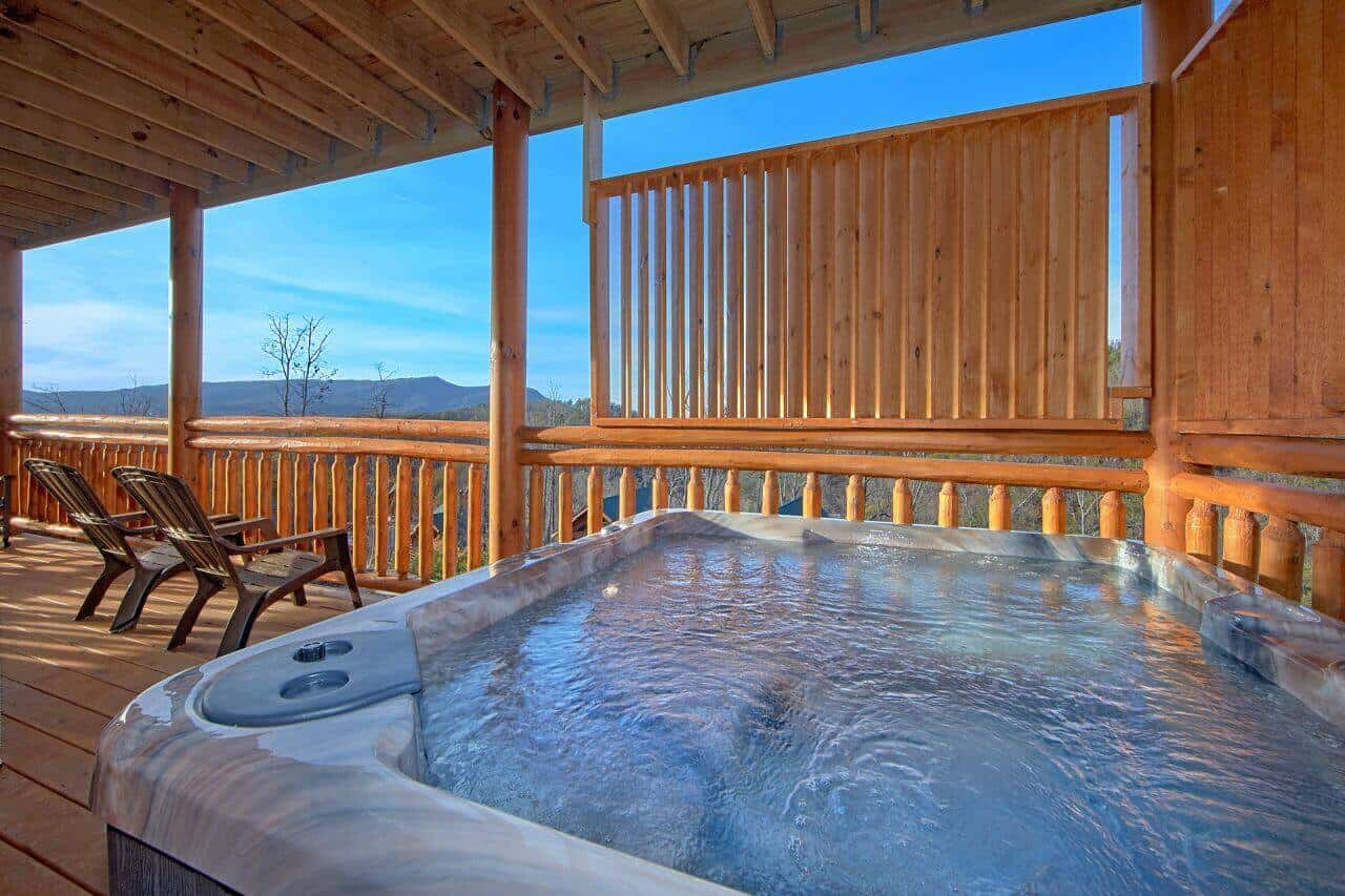 Top Of The World Pool Lodge Cabin In Wears Valley Elk