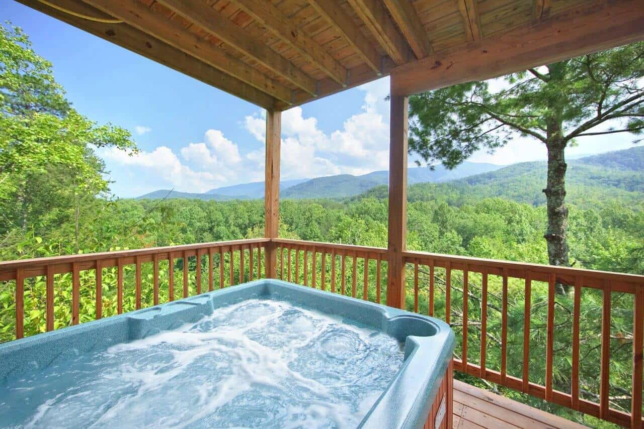 Tree Tops Cabin In Gatlinburg Elk Springs Resort